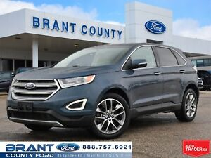 2016 Ford Edge LOADED AWD HEAT/COOLED LEATHER NAVI SUNROOF