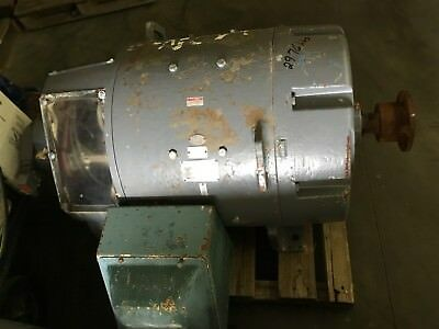 General Electric 150 Hp Dc Motor 500 Volts 245 Amps 11501650 Rpm Cd585 Frame