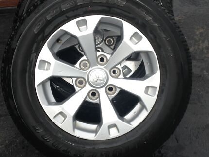 Rims Wheels Mitsubishi Triton