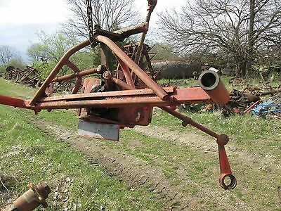 Allis Chalmers Wd Wd45 Wide Front Axle And Steering Box For Parts