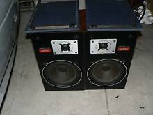 Denon bookshelf speakers SC-101 Made in Japan 1981 Caringbah Sutherland Area Preview