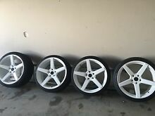 Near brand new stagged concaved 20s fit Holden or bmw Maitland Maitland Area Preview