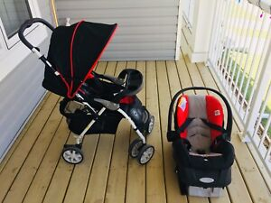 Evenflo baby travel systems stroller and car seat