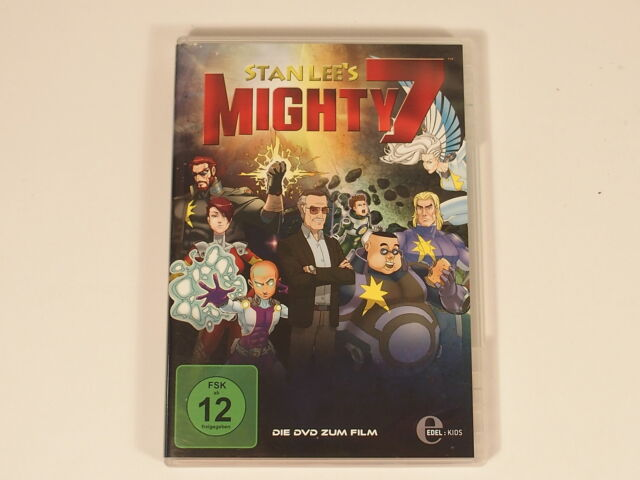 DVD - Zeichentrick - Stan Lee - Mighty 7