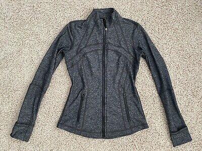 EUC Lululemon Heathered Black Define Jacket First Release 6
