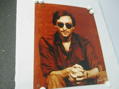 "SIGNED ORIGINAL DAVID M SPINDEL PHOTOGRAPH OF JOHN LENNON LMT ED 32/275 16""x20"""
