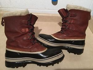 Men's Sorel Caribou Waterproof Winter Boots Size 10 London Ontario image 2