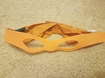Teenage Mutant Ninja Turtles TMNT the movie orange MICHELANGELO EYE MASK costume - The Ninja Turtles Costumes