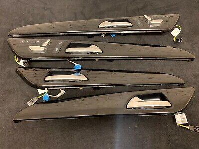 MERCEDES BENZ ML GLE GLS W166 X166 W292 INTERIOR HANDLE DOOR TRIMS BLACK