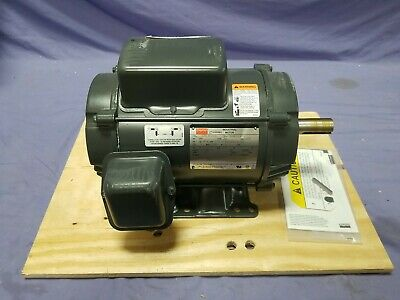 Dayton 6k854 5 Hp 1740 Rpm 230v Single Phase 184t Frame Air Compressor Motor