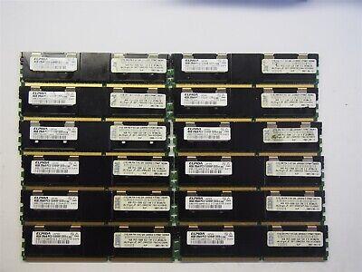 12 Ddr2 Memory Module (Lot of 12 IBM 4GB DDR2 PC2-5300 41Y2845 Memory Module 48GB)