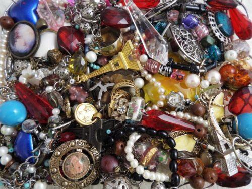 ~ 3 lb ~ Junk Jewelry ~ Lot L174