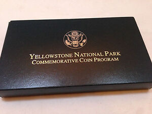 1999 Commemorative Coin Program Yellowstone National Park Proof Silver Dollar