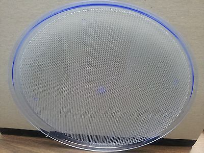 Serving Tray Neon Blue 15 Round Acrylic Bar Must Be Used With Black Light