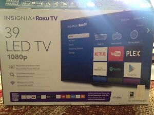 INSIGNIA  ROKU  39 inches - LED 1080P HD