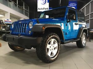 2016 Jeep Wrangler Sport 4x4   Removable Roof and Doors   3.6...