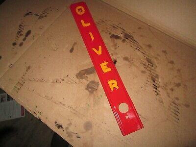 Oliver Tractor 66s6666077s77 Radiator Shell Center Bar