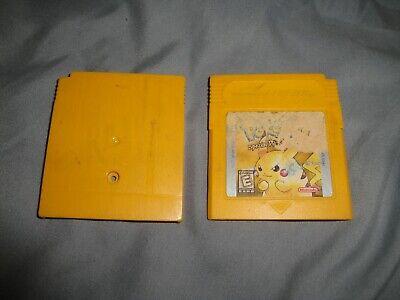 READ DESCRIPTION Pokemon Yellow Version; Special Pikachu Edition SHELL ONLY L@@K