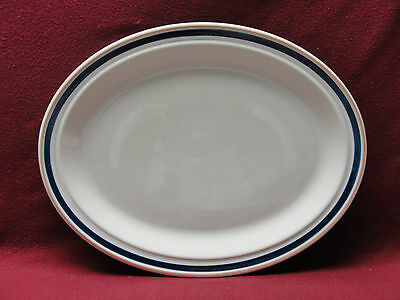ROYAL DOULTON China - DESIGNS ALA CARTE/BLUE LINE Pattern - OVAL SERVING PLATTER Royal Doulton Line