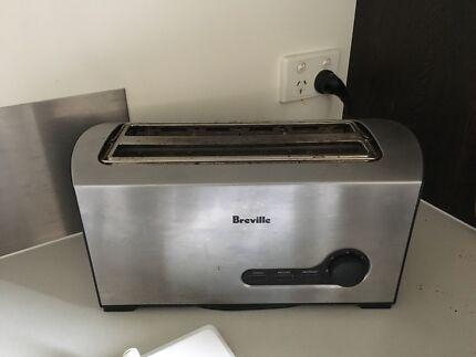 Bréville Toaster - steel