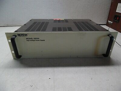 Bertan Model 2916a High Voltage Power Supply