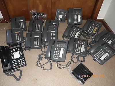 Lot Of 14 Lucent 6408 6402 Business Office Phones Telephone System Avaya 8410 D