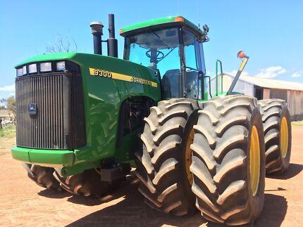 For Sale John Deere 4WD 9300 Tractor