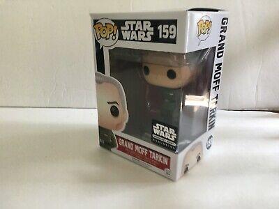 Funko POP Star Wars Grand Moff Tarkin #159 Smuggler's Bounty With Box