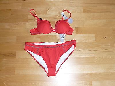 HUIT - Bügel-Bikini, Gr. 44 / 75 A, rot, NEU***