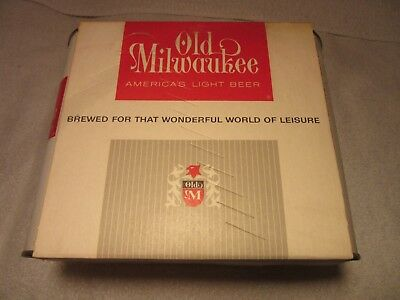 Old Milwaukee Air Filled Beer Cans NOS 6 Pack 1962