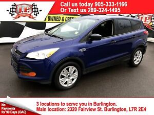2015 Ford Escape S, Automatic, Back Up Camera, Bluetooth