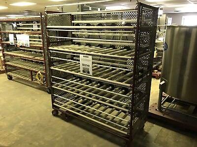 5-tier Jar Mill Roller Rack 62w X 24deep X 78h
