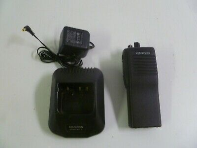 Working Kenwood Tk-190-2 35-50 Mhz Low Band Two Way Radio Tk-190 Ksc-19 Charger