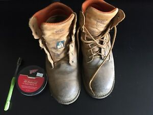 Boots: Timberlands size 8.5W Mens (8 UK)