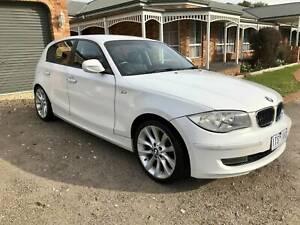 2010 BMW 120i White Automatic Hatchback