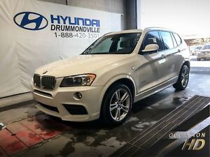 BMW X3 35i X-DRIVE + M SPORT PACK + TOIT + CUIR + MAGS + WOW !