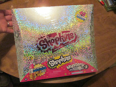 SHOPKINS MYSTERY EDITION SERIES # 3 PACK CONTENTS 40 SHOPKINS 5 BACKPACKS TARGET