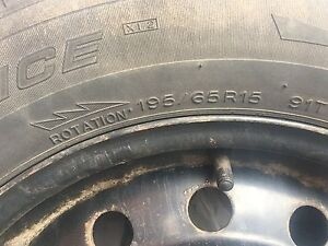Tires  4 mounted 195/65/R15