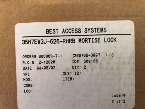 Best Mortise Lock 35H7EW3J-626-RHRB