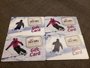 Four Snow Valley $100 Gift Cards
