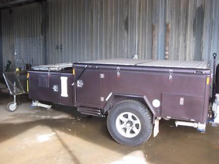 top of the range camper trailer