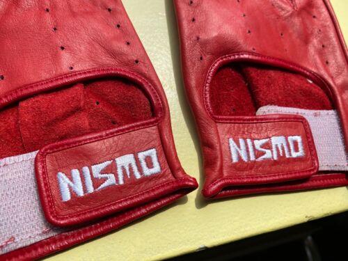 Nismo Old Logo Driving Gloves Rare Vintage Jacket Apparel R32 GTR R33 Z32 GTIR