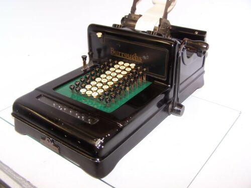 Antique Burroughs Class 3 Vintage Adding Machine  - Works