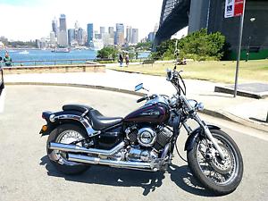 2011 Yamaha V Star 650 custom North Sydney North Sydney Area Preview