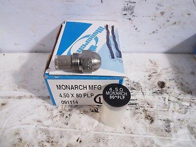 Monarch Oil Burner Nozzle 4.50 X 80 Plp Semi-solid New Nos Fuel Furnace