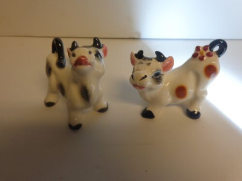 Vintage Cow Porcelain Figurines