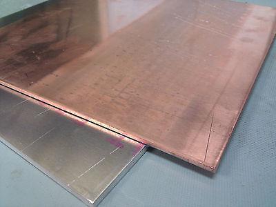 1pcs 99.9 Pure Copper Cu Metal Sheet Plate 2 X 100 X 200 Mm E3-21a