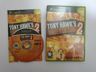 TONY HAWKS UNDERGROUND 2 - ORIGINAL XBOX GAME COMPLETE TESTED **FREE UK P&P***