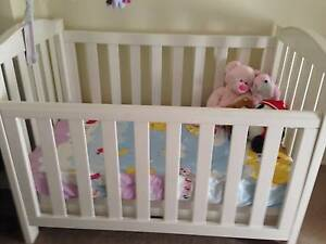 Love and Care Baby Cot with Mattress Woodcroft Blacktown Area Preview