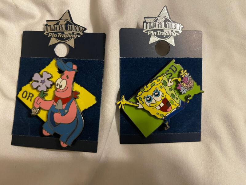 Spongebob Squarepants And Patrick Pins 2 Pins